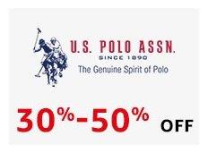 U.S. Polo Min 40% off