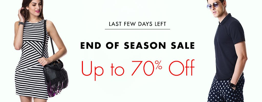 Amazon End Of Season Sale
