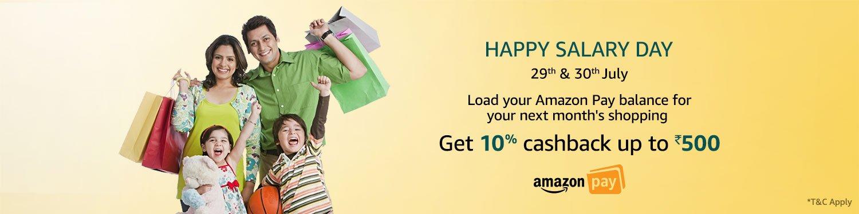 Amazon Happy Salary Day