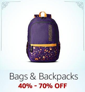 Bags & Backpacks: 40%-70% off