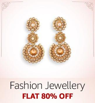 Festive Jewellery: Flat 80% off