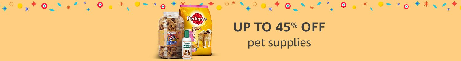Up to 45% off pet supplies