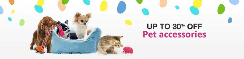 Up to 30% off: Pet Accessories