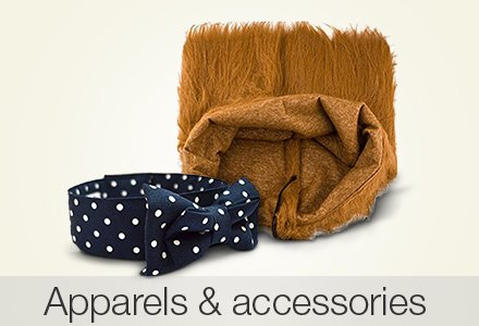Apparels & accessories