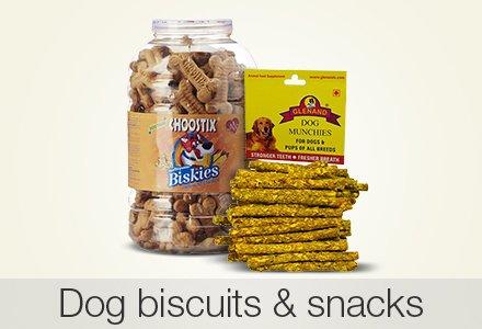 Dog biscuits & snacks
