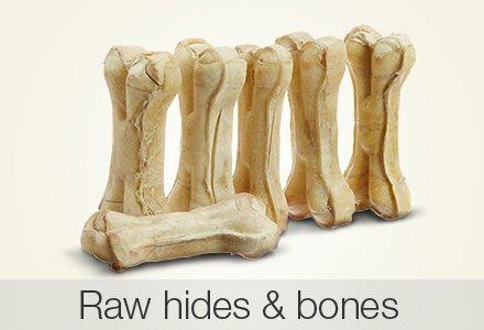 Raw hides & bones