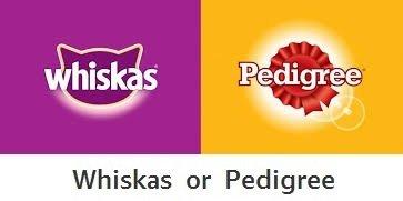 Whiskas or Pedigree
