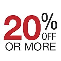 20% off or more