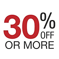 30% off or more
