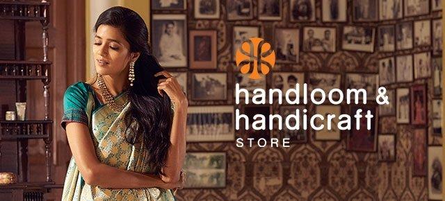 Handloom and handicraft store