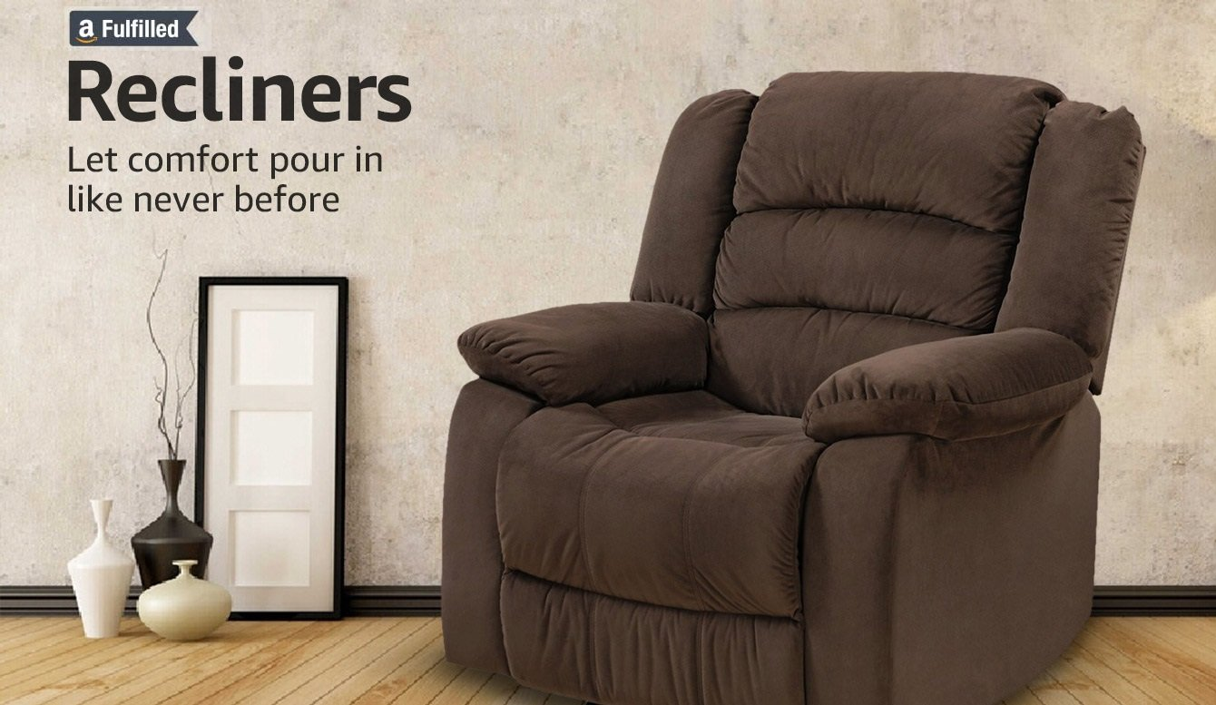 Recliners: Let comfort pour in like never before