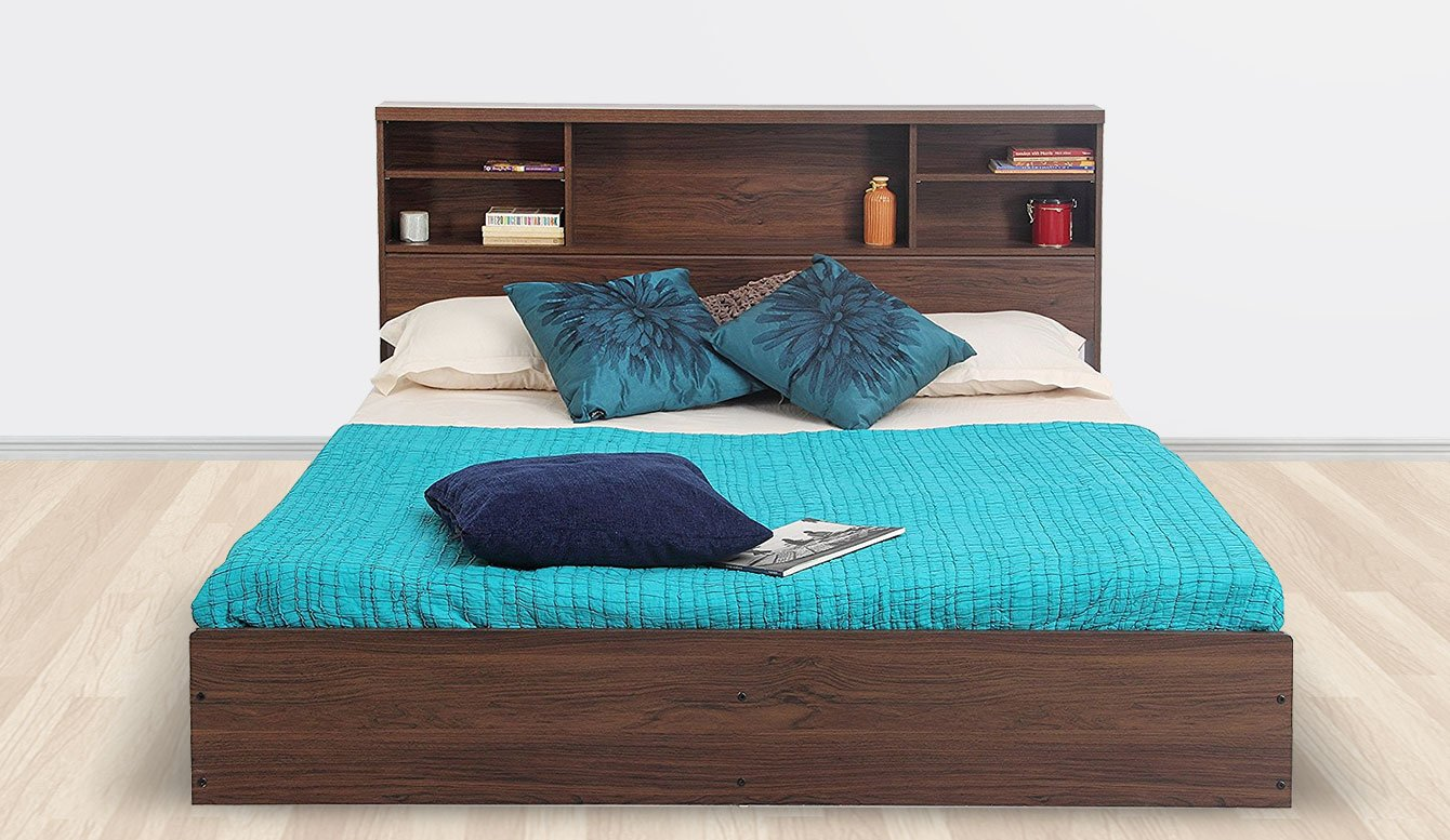 Indian modern double beds - Engineered Wood Beds