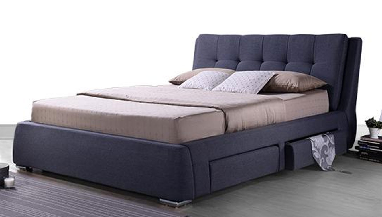 Indian modern double beds - Storage Beds