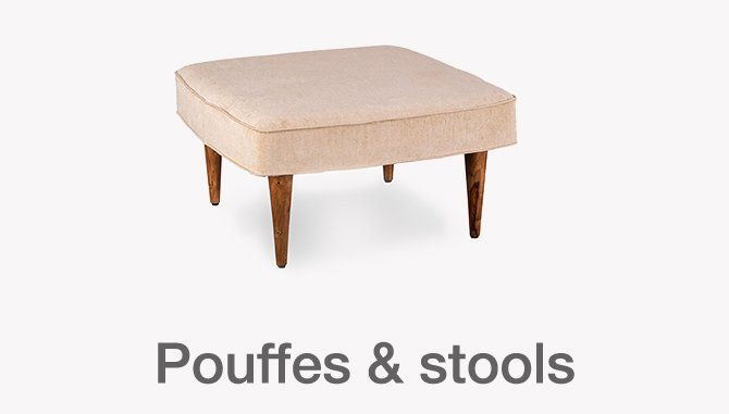 Pouffes and Stools