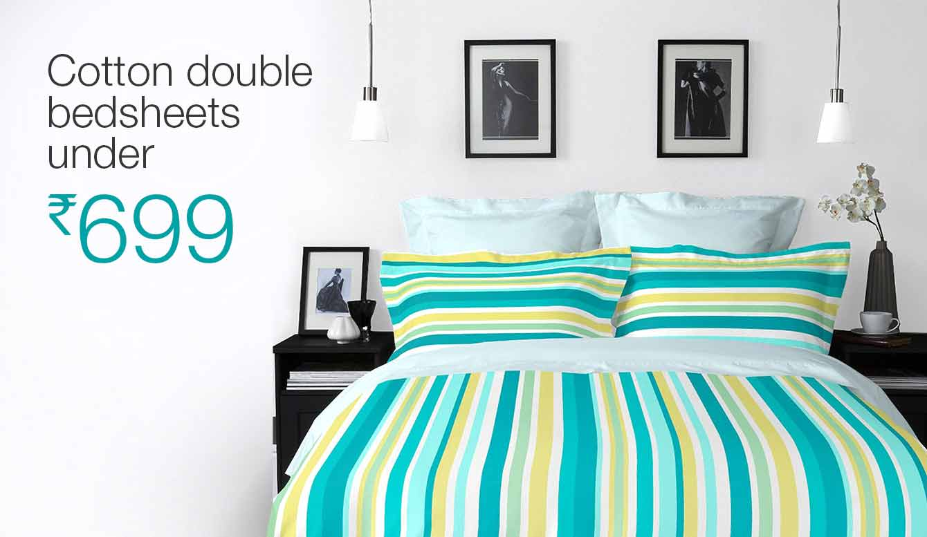Cotton bedsheets under Rs  699. Home Furnishing  Buy Home Furnishing Online at Best Prices in