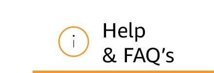 Help & Faqs