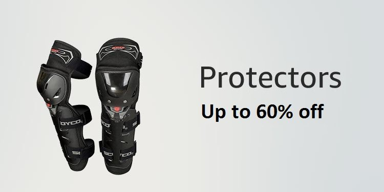 up to 60% off on knee and elbow guards