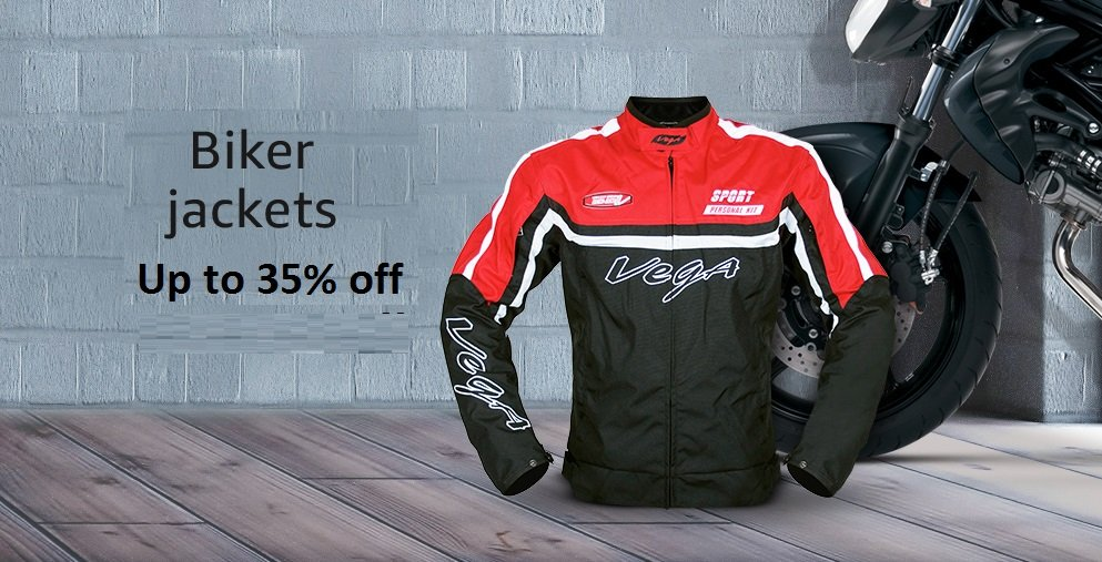 biker jacket - up to 35% off