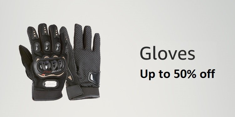 hand gloves for bike - up to 50% off