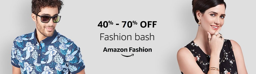 Fashion Bash 40% - 70% off