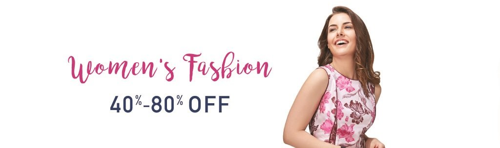 Amazon fashion 40% - 70% off