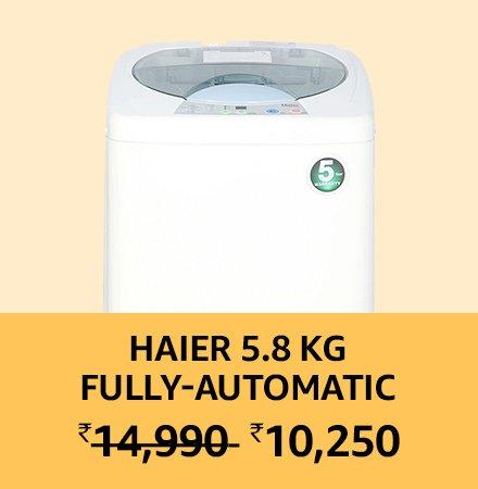 Haier 5.8kg