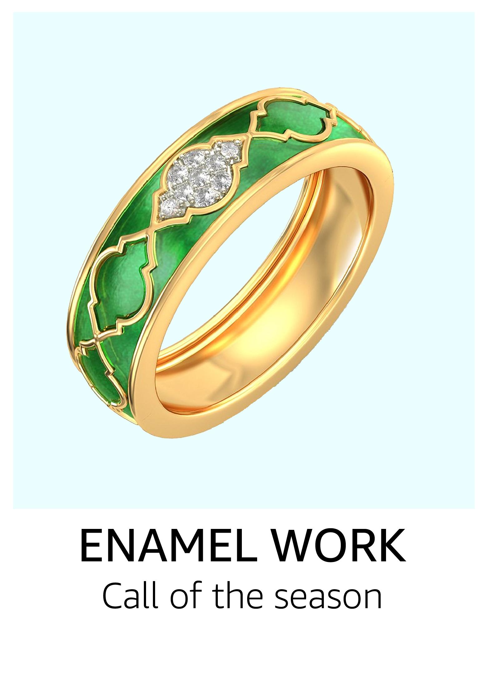 Enamel work