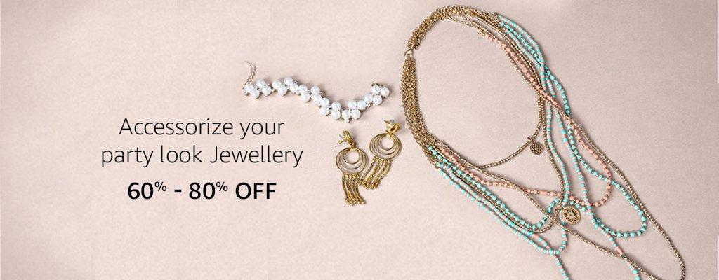 off on Trendy Jewellery
