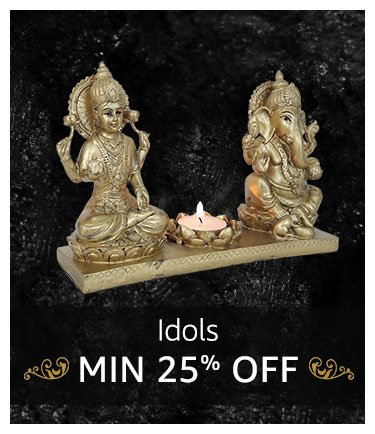 Idols : Minimum 25% off