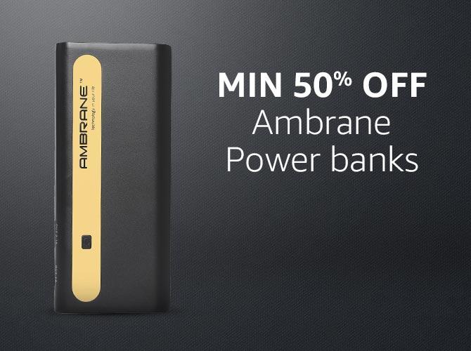 Ambrane Power banks