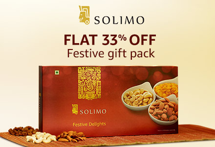 Flat 33% off: Solimo