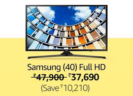 Samsung Full HD LED TV (Black)