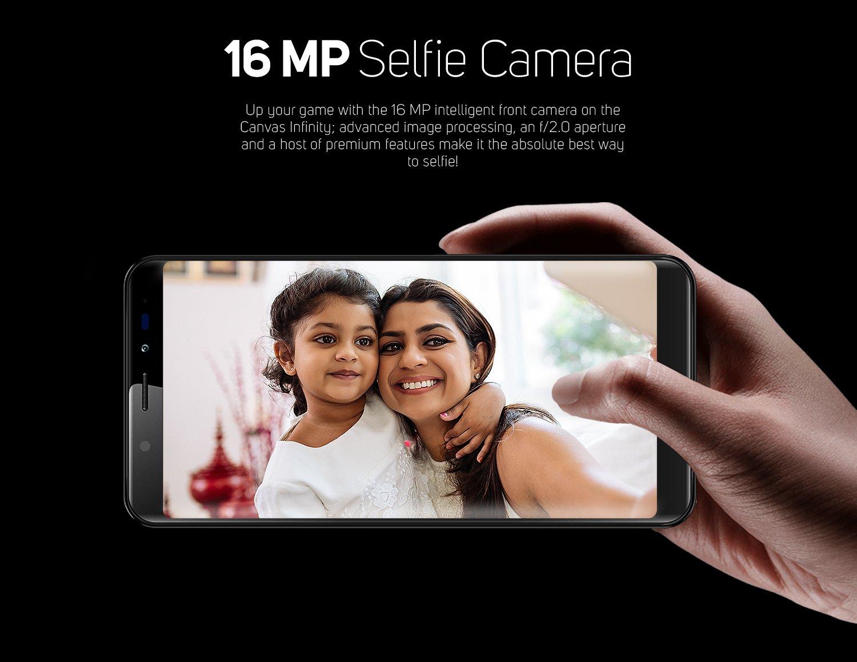 16mp selfie camera