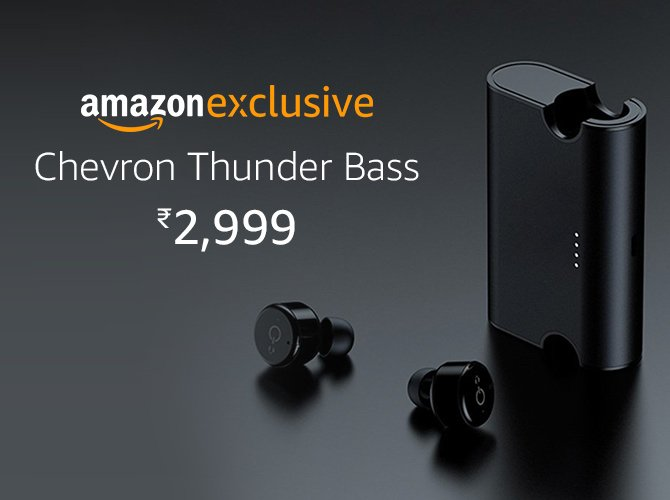Chevron Thunder Bass Earphone