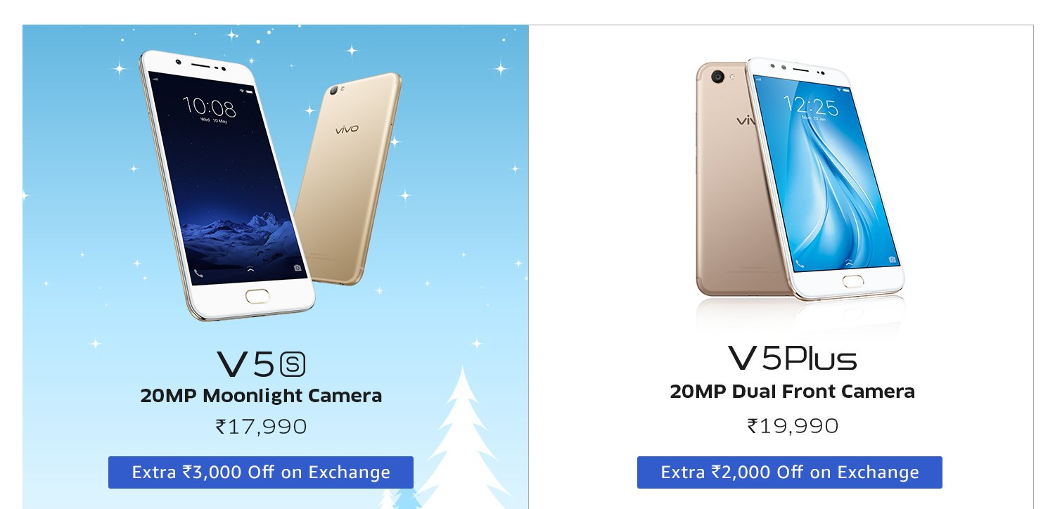 Amazon  Offer Get upto 20% off on Vivo Smartphones
