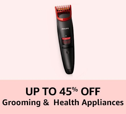 Up to 45% off Grooming
