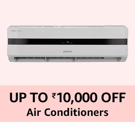 UP to Rs10,000 off Airconditioners