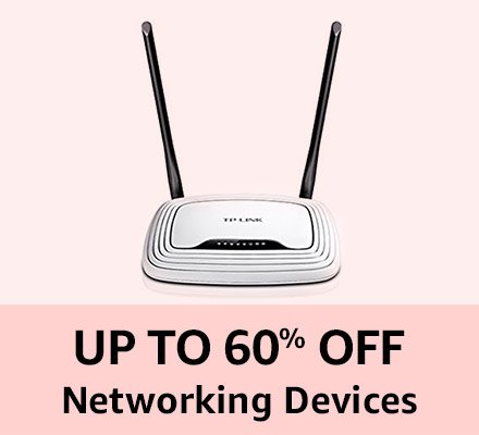 Up to 60% off Networking devices