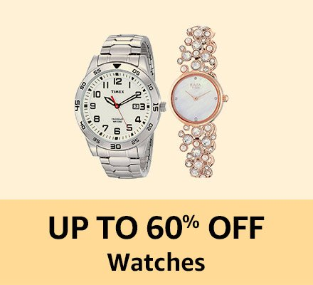 Up to 60% off Watches