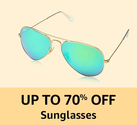 Up to 70% off Sunglassses