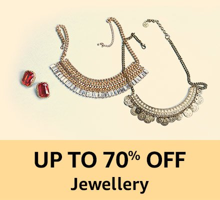 Up to 70% off Jewellery