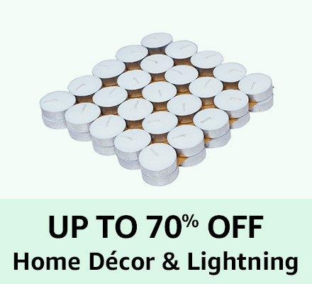 Up 70% Home Decor