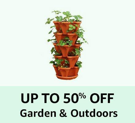 Up to 50% off Garden & Outdoor