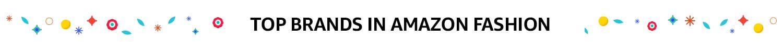 Top brands Amazon Fashion