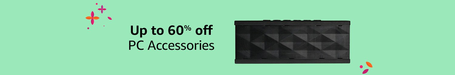 Up to 60% off PC Accessories