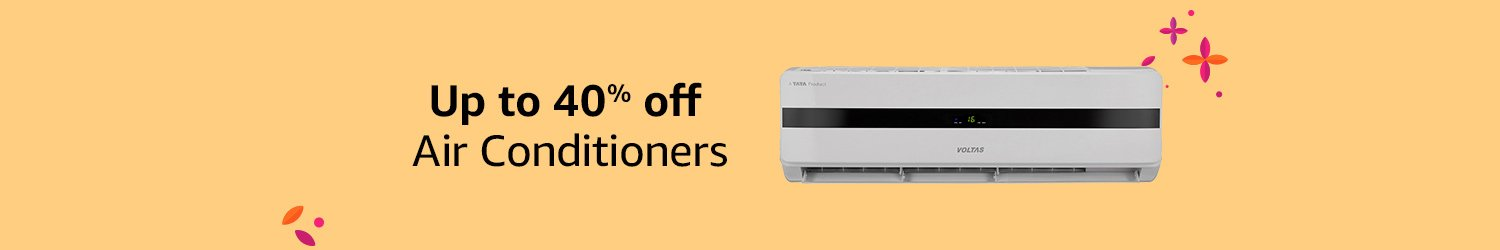Up to 40% off ACs