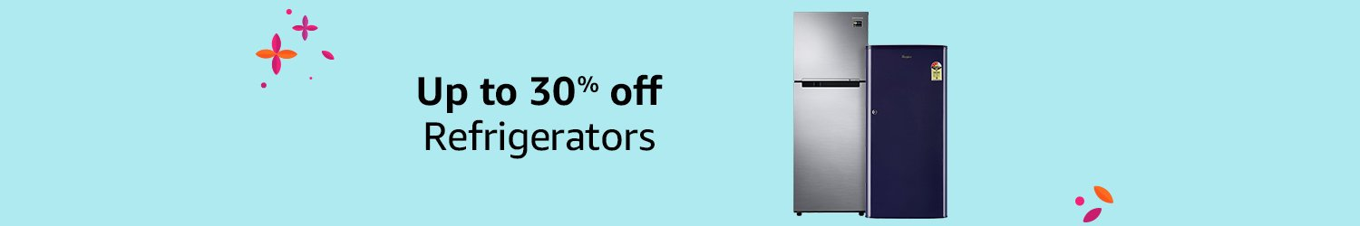 Up to 30% off Refrigertors