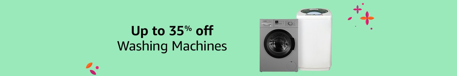 Up to 35% off Washing Machines