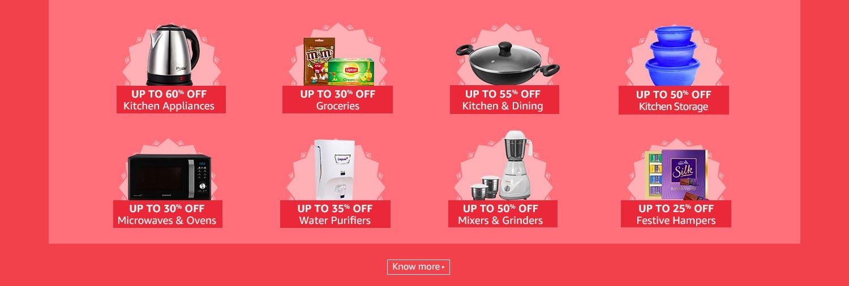 Kitchen Appliances & Cooking essentials