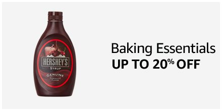 Baking Essentials Up to 20% off